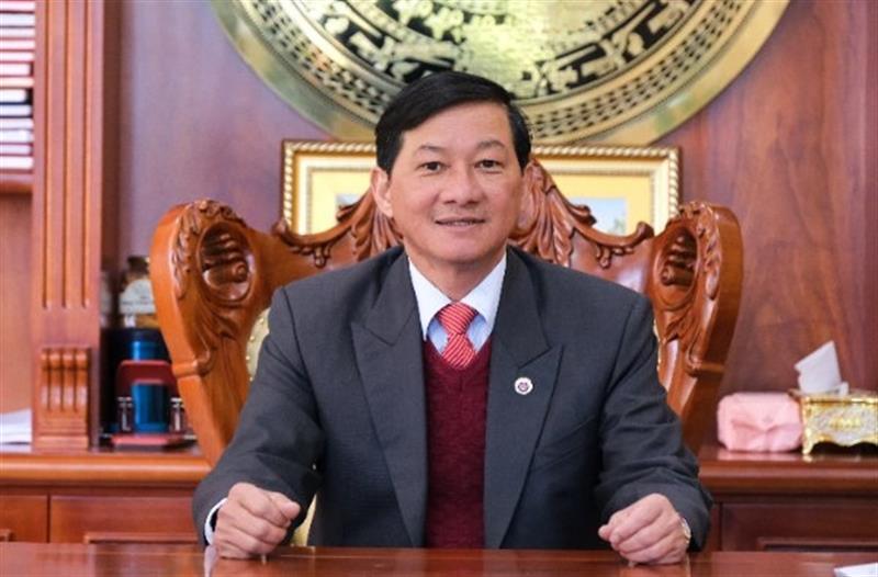 Đồng chí Trần Đức Quận, Bí thư Tỉnh ủy, Chủ tịch HĐND tỉnh Lâm Đồng