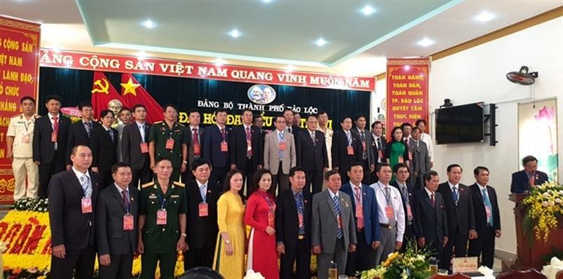 Đại hội đại biểu Đảng bộ cấp  trên cơ sở tỉnh Lâm Đồng tổ chức thành công tốt đẹp