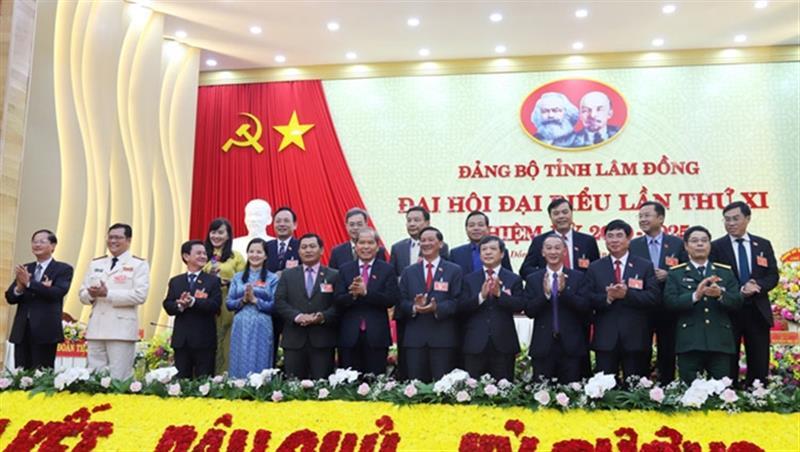 Đoàn đại biểu Đảng bộ tỉnh Lâm Đồng tham dự Đại hội đại biểu toàn quốc lần thứ XIII của Đảng. (Ảnh: TL)