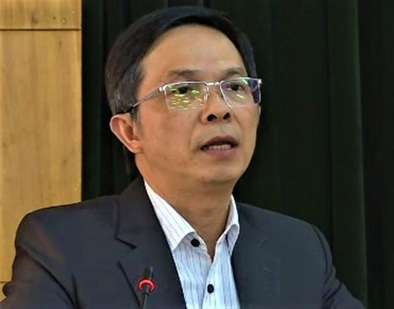 Phát biểu chỉ đạo tại Hội nghị, ông Đặng Trí Dũng - Ủy viên Ban Thường vụ Tỉnh ủy - Phó Chủ tịch UBND tỉnh