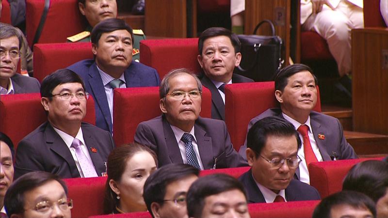 Đoàn đại biểu Lâm Đồng tham dự Đại hội toàn quốc lần thứ XIII của Đảng