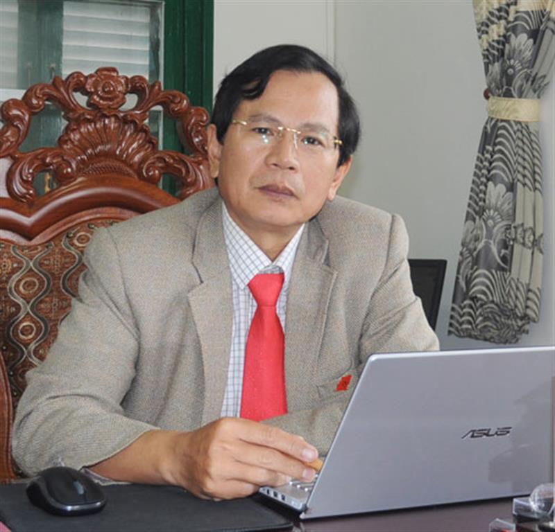 Đồng chí Phạm Thanh Quan - Tỉnh ủy viên, Bí thư Đảng ủy Khối Các cơ quan tỉnh