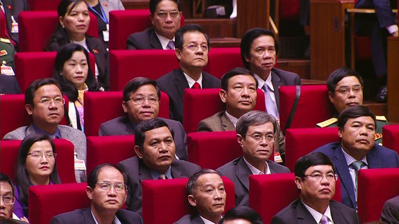 Đoàn Lâm Đồng và các đại biểu tham dự Đại hội