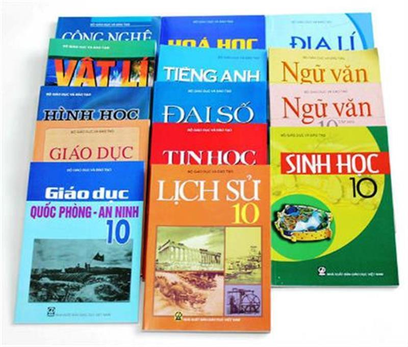 Những bộ sách giáo khoa khác nhau theo cùng một khung chương trình giáo dục phổ thông thống nhất